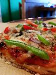 vegan pizza close up 2