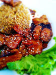 Marmite KongPao Tofu Rice