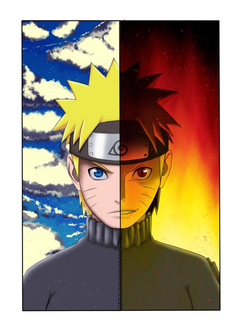 Two Naruto by KitKat2604