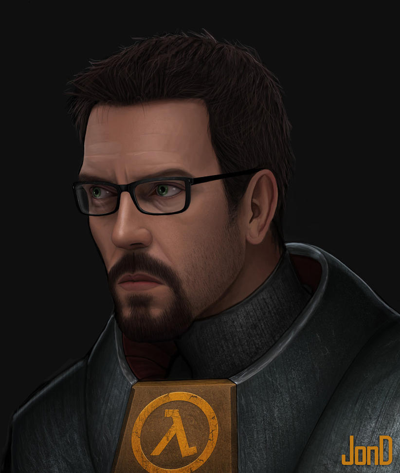 Half-Life Gordon Freeman by JonD7