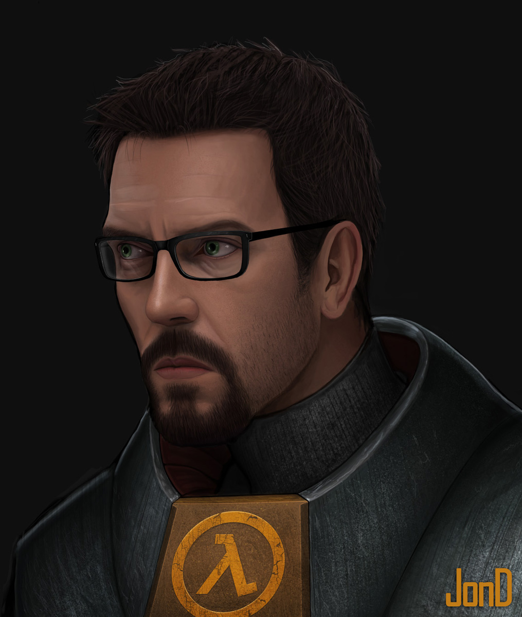 Half Life Gordon Freeman By Jond7 On Deviantart