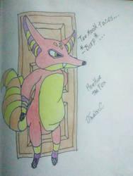 HueHue the fox - SuicideSquadArchives Request by JhainC