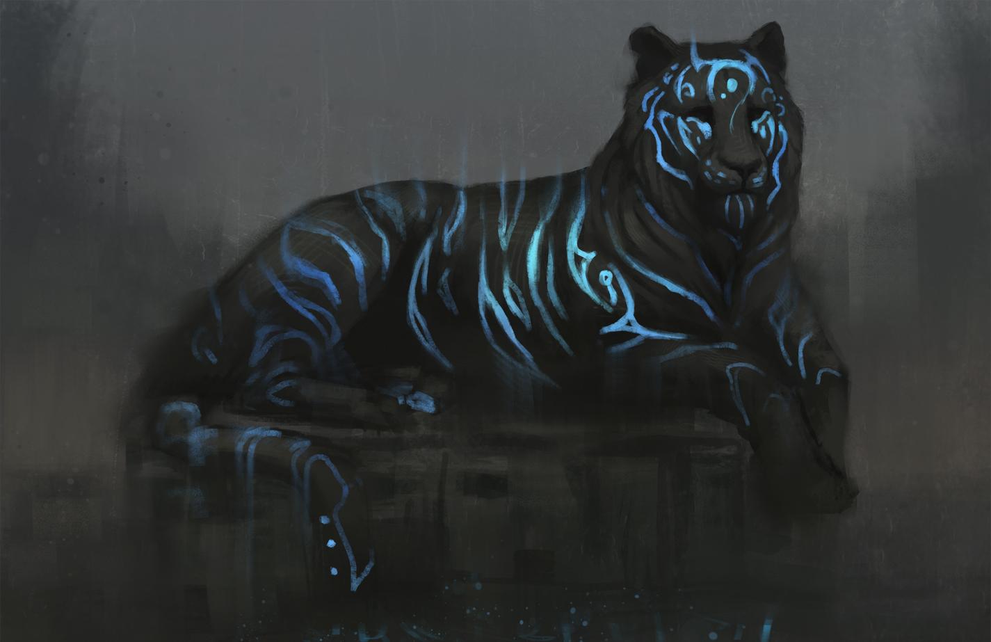 Blue Tiger by JadeMere