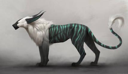 Stiltcat: Nocturn by JadeMerien