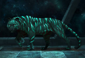 Tiger Space by JadeMerien