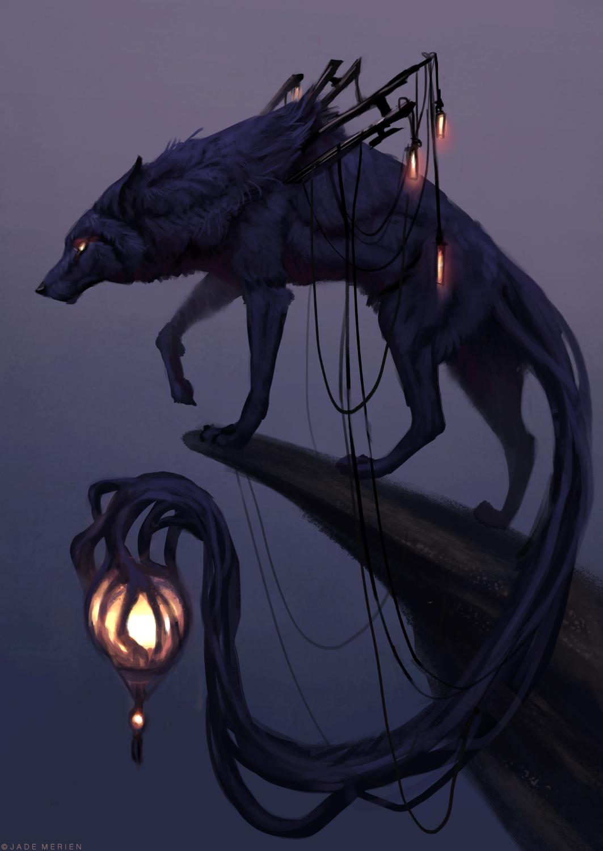 Lantern Wolf