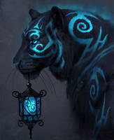 Blue Lantern by JadeMerien