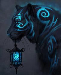 Blue Lantern by JadeMerien