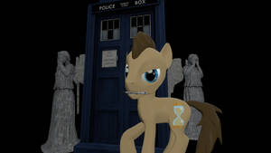 Doctor Whooves and the Weeping Angels