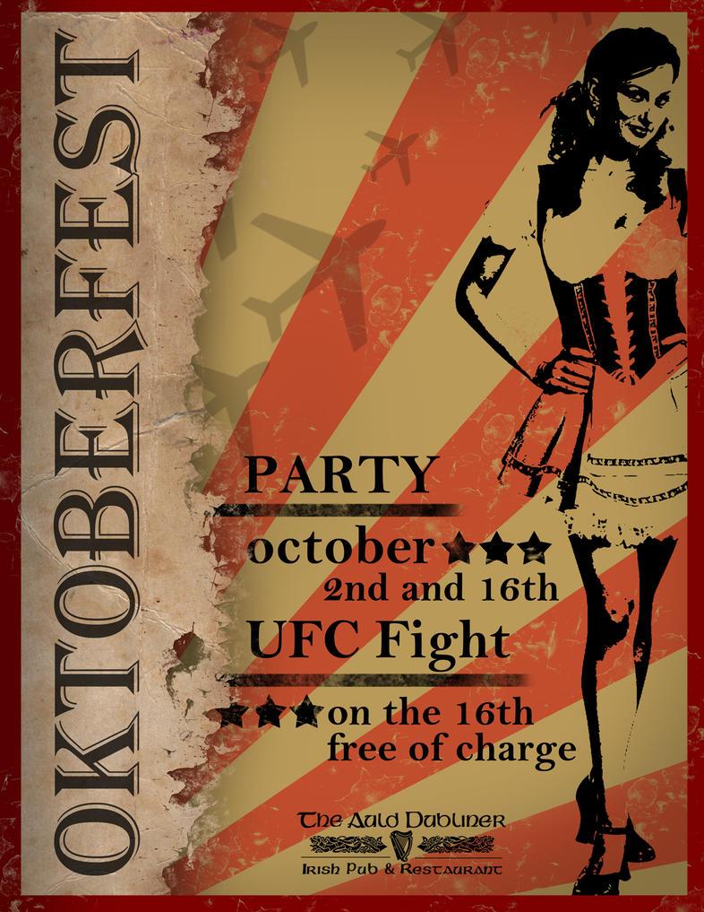 Oktoberfest Flyer by rkaponm