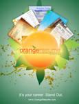 Orange Resume Advertisment