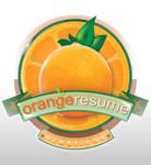 Orange - Vintage Logo