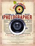 Resume - Photographer 2