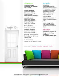 Resume - Interior Design by rkaponm
