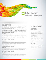 Creative Resume - Vector Life by rkaponm