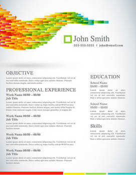 Creative Resume - Vector Life