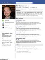 Creative Resume - Social Media by rkaponm
