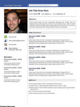 Creative Resume - Social Media