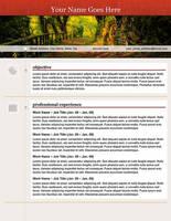 Creative Resume - Open Path by rkaponm
