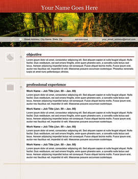 Creative Resume - Open Path