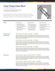 Creative Resume - Splash of Color by rkaponm