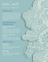 Creative Resume - Organic by rkaponm