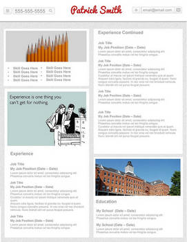 Creative Resume - Pin It