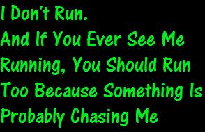I Don't Run. by ICreateWolf13