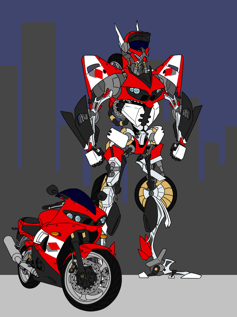 Transformer OC: Caliper by LostHelix119