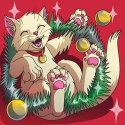 Christmas cats 1