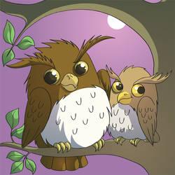 Owl Cross Stitch Design