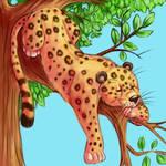 Snoozy Leopard