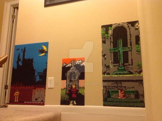 Wall-O-Castlevania by DOAruss