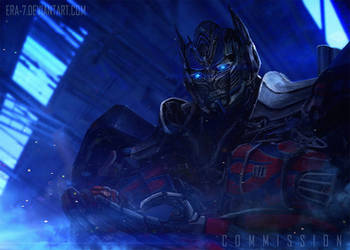 TFAOE: Optimus Prime ans Siris 2 - COMMISSION by ERA-7S