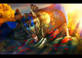 TFAOE: Optimus Prime 4 by ERA-7S