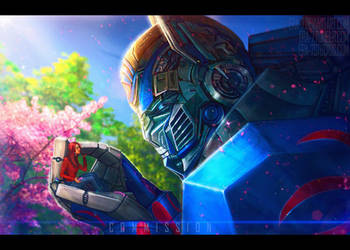 TFAOE: Optimus Prime 6 by ERA-7S