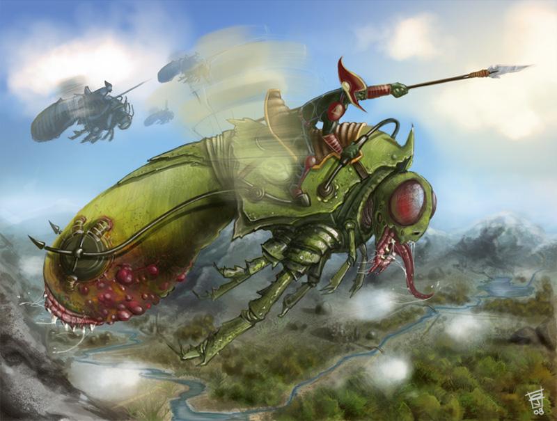 flying lizard ??? by j-o-k-a
