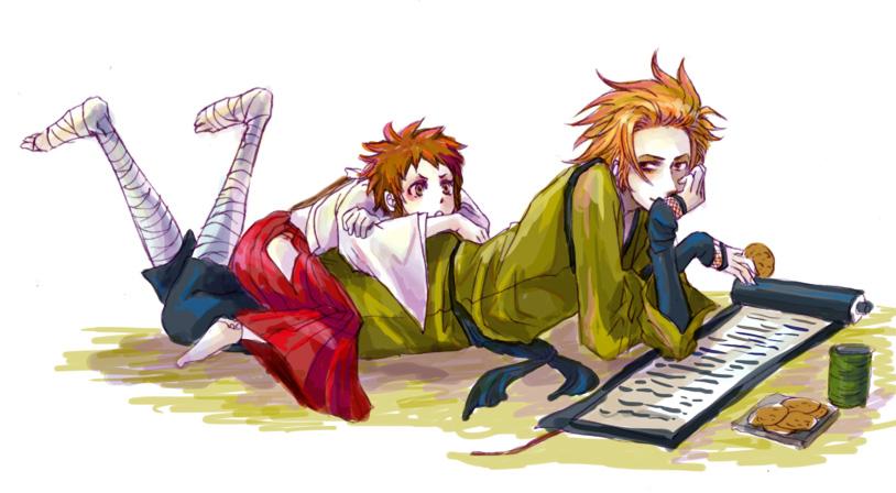 sasuke x yukimura by 0thefoolnever