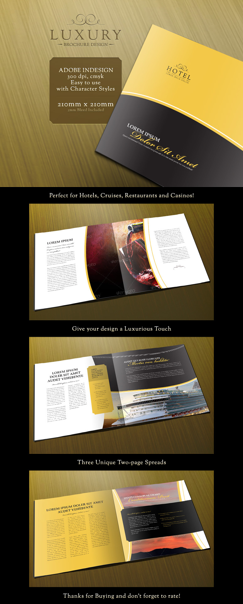 brochure template for indesign - print design favourites by manabelmoose on deviantart