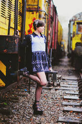 Abandoned trains - Aurore - 1 by Lunie-Chan