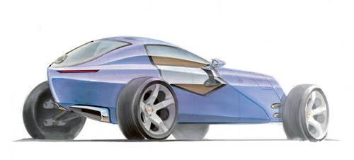 'Alfa Romeo 4C' 2 by Karmann