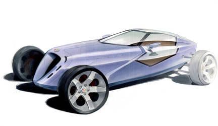 'Alfa Romeo 4C' 4 by Karmann