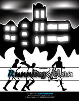Running man poster by Staticx99
