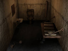 3D Prison room by Staticx99