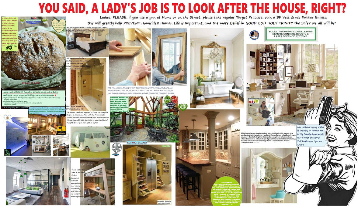 A Lady S Job Is To Look After The By Brianpaulgerald On