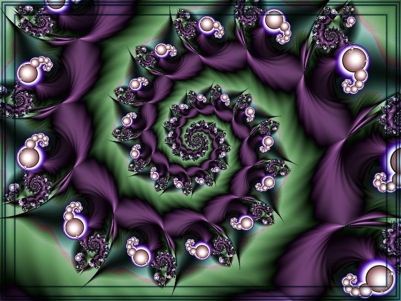 Spiral Purple by renatamag