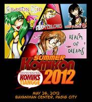 Summer Komikon Ad 2012