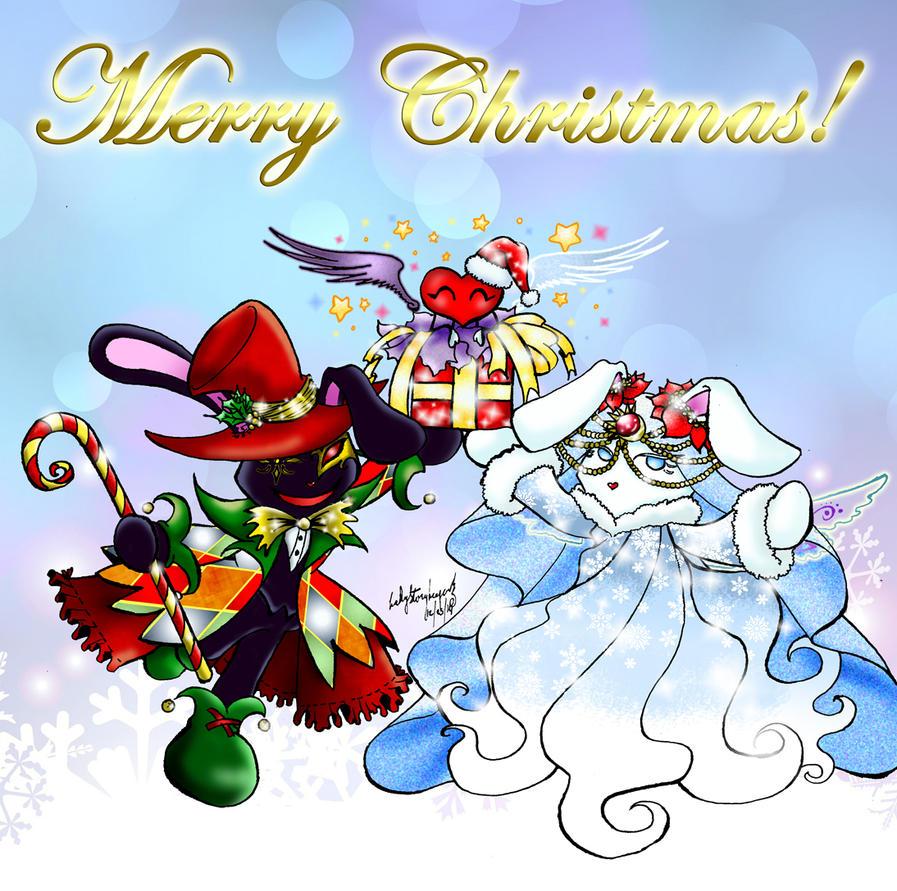 BOKIMKATJE KOMIKS Christmas Greetings 2014 by lady-storykeeper