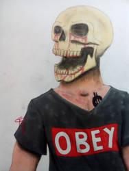 Skull by TraexLeThrace