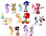 MMD - Sonic the Hedgehog Meets My Little Pony